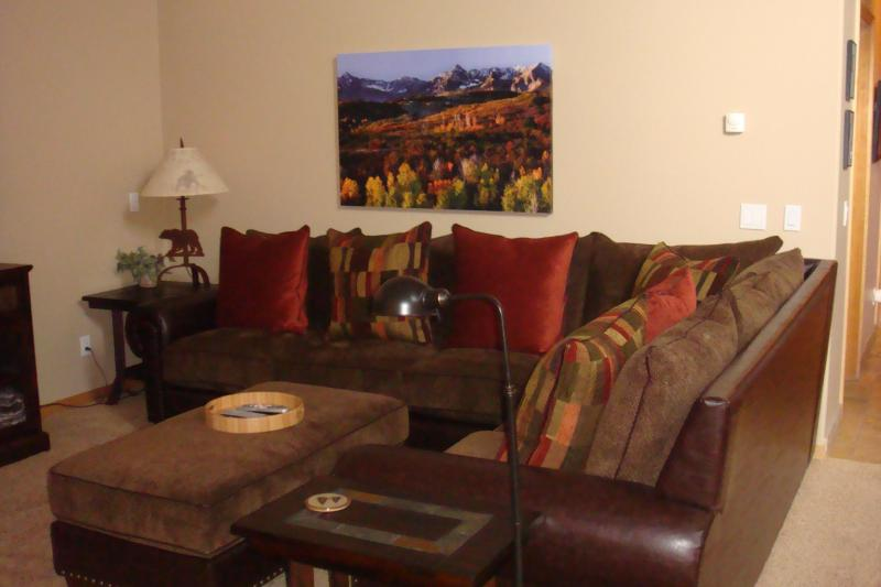 Living Room - The Corral, Luxury 3 BR Condo + Loft SUMMER OFFER! - Breckenridge - rentals