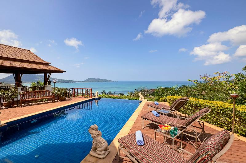 Swimming Pool decking - A1-Phala, L'Orchidee Residences - Patong - rentals