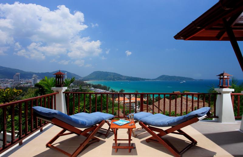 Terrace, extension uncovered - C10-Cattleya, L'Orchidee Residences - Patong - rentals