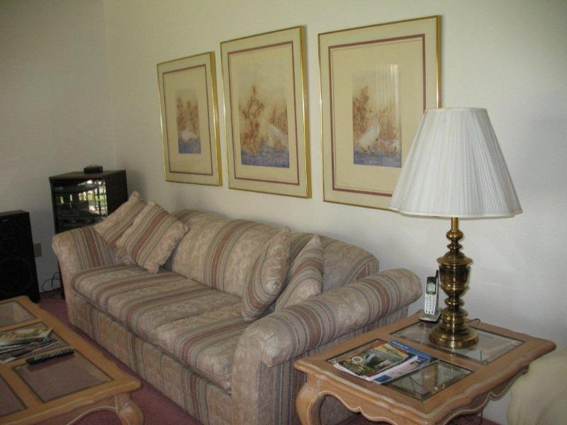 Living room - Beautiful Canyon Shores Condo - Cathedral City - rentals