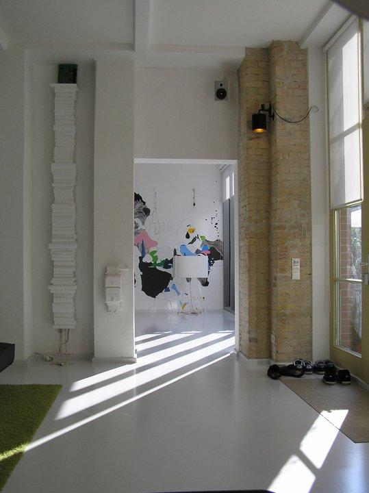 Entrance - Modern Factory Loft in Center - Berlin - rentals