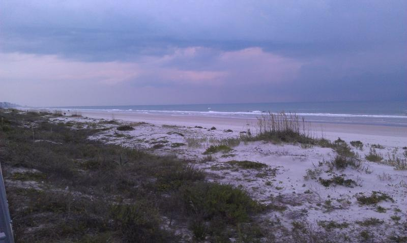 Beach view from the balcony - Awesome Beachfront Luxury 2BR Condo Ponce Inlet FL - Ponce Inlet - rentals