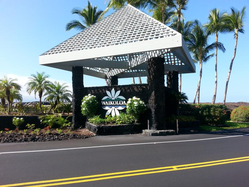 Enterance to the Waikoloa Beach Resort - Waikoloa Beach Resort the Vista Waikoloa - Kaluakoi Point - rentals