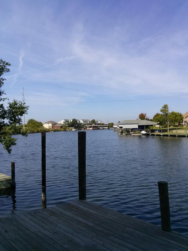 from the dock - Waterfront on Lake Pontchartrain  plus the  French Quarter - Slidell - rentals
