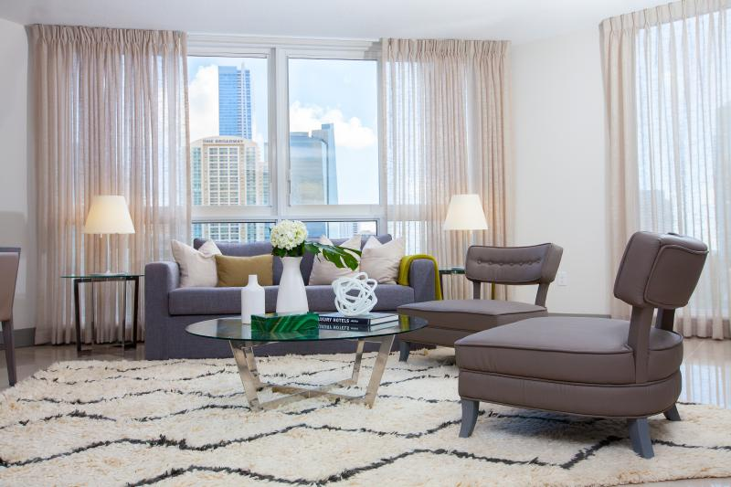 New and Modern Two Bedroom Apartment - Habitat Residence Tower 2 - Image 1 - Miami - rentals
