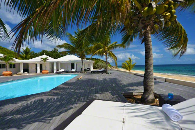 St. Martin Villa 7 Located In A Serene Beach Front Atmosphere, This Villa Is The Perfect Paradise For A Dream Vacation. - Image 1 - Baie Rouge - rentals