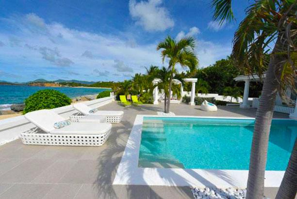 St. Martin Villa 134 Modern With All The Amenities The Villa Has A Large Pool And Terrace With Un-obstructed View Of The Ocean. - Image 1 - Baie Rouge - rentals