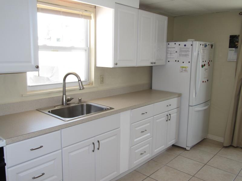 kithchen right - Great Apt. just steps from this beautiful beach - Englewood - rentals