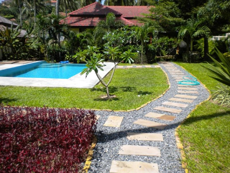 Villa Garden - Popular Serene Garden Villa: Large Private Pool - Koh Samui - rentals