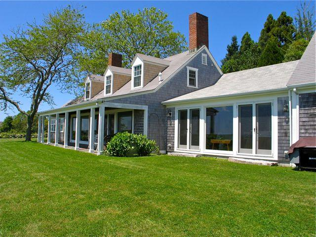 Chilmark House and Guest House With Atlantic Ocean Views! (Chilmark-House-and-Guest-House-With-Atlantic-Ocean-Views!-CH222) - Image 1 - Chilmark - rentals