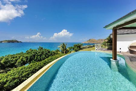 Ocean view villa Tichka with large sun deck, infinity pool & short walk to beach - Image 1 - Flamands - rentals