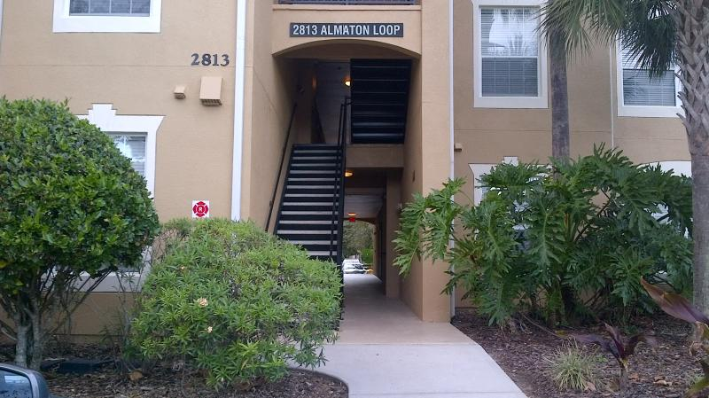 Front entrance  - Condo.5 min to Walt Disney - 5 Star Gated Resort - Kissimmee - rentals