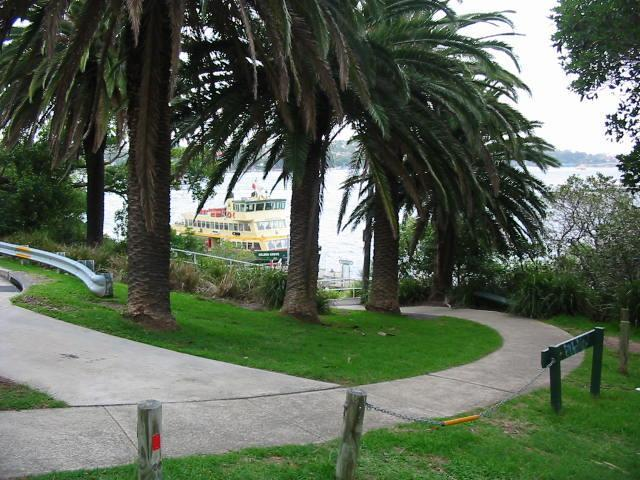 Ramp to/from ferry wharf (photo taken from house) - your very special SYDNEY HARBOUR STUDIO - Sydney - rentals