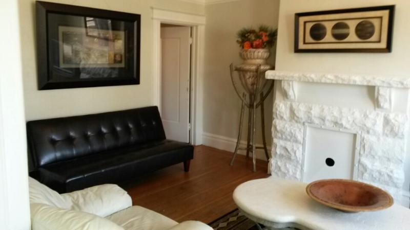 Living Room - Mission Dolores 3Bedroom Flat - San Francisco - rentals