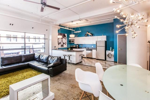 Vibrant Modern Large Kitchen/Spacious Living Area - Huge Artist Loft in Downtown San Diego - San Diego - rentals