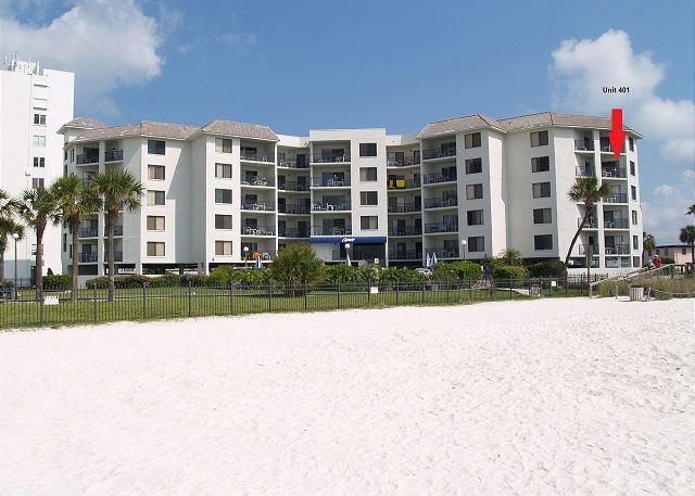 Beachfront condominium located directly on the Gulf of Mexico in St Pete Beach - Caprice #401 - Saint Pete Beach - rentals