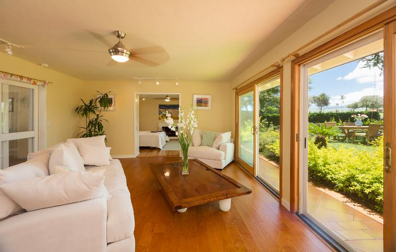 Plantation Home - Living Room 2 - Plantation Home close to Baby Beach - Paia - rentals