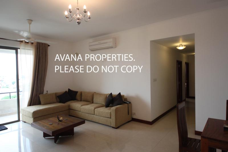 Spacious Living Room - 3 BR Fully Furnished Apt in Colombo 8 near Odel - Colombo - rentals