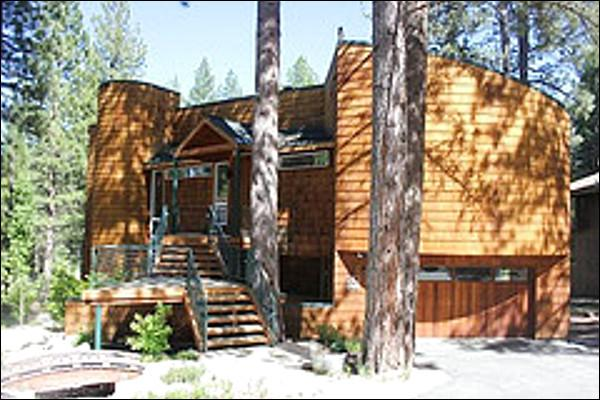 Contemporary Home on Golf Course - View of 16th Fairway of Golf Course - Contemporary Home on Private Street (1923) - Lake Tahoe - rentals