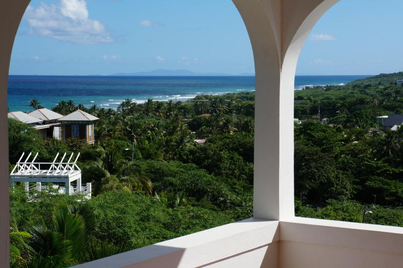 Upstairs Balcony View - Tres Arcos:New Gorgeous Expansive Sea View Listing - Vieques - rentals