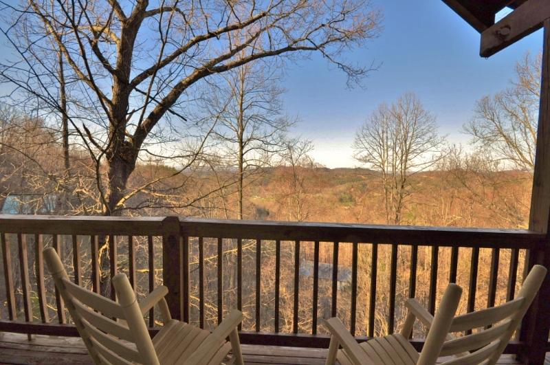 Rock while taking in the views! - BEAUTIFUL VIEWS! SECLUDED, PERFECT CENTRAL LOCATION! - Sevierville - rentals