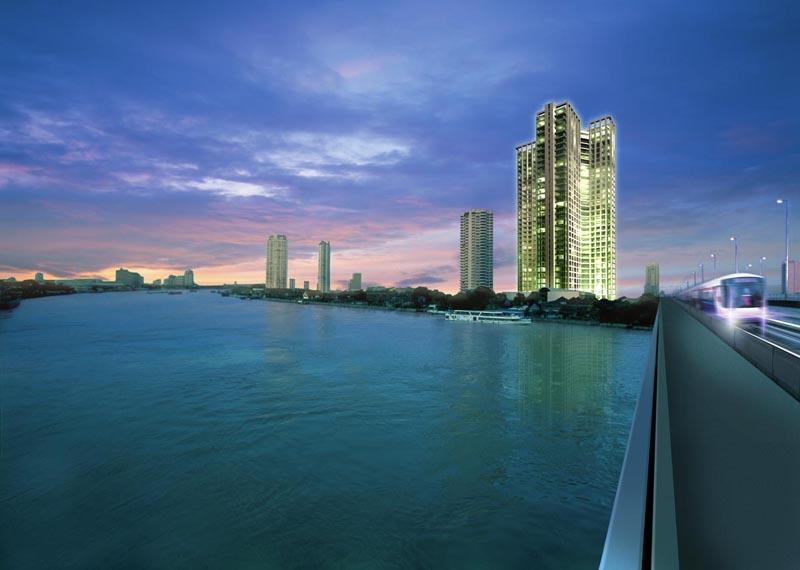 Beautiful Riverview Apartment near BTS - Image 1 - Bangkok - rentals