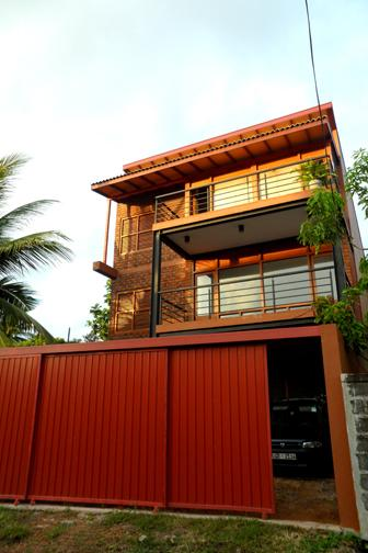 front view - BRICK HOUSE luxury apartment-02 - Dehiwala - rentals