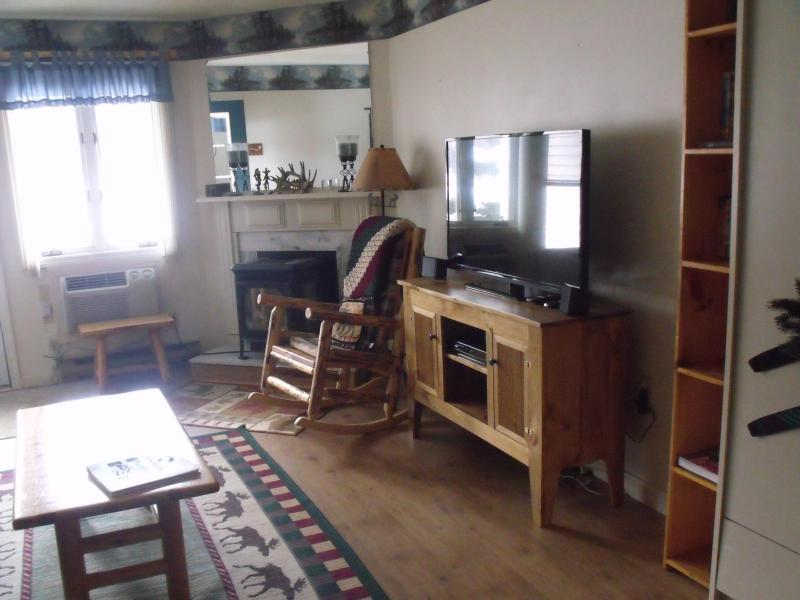 Living Room - Spacious 1 bdr Condo close to Loon Mountain with King Bed & Queen Murphy Bed - Lincoln - rentals