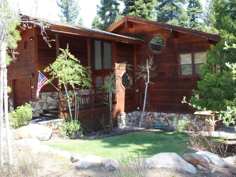 Front of House - Two Master Bedrooms - North Shore, Dollar Point - Tahoe City - rentals