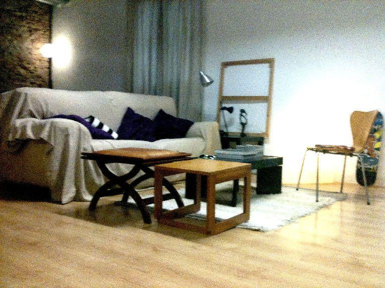 Living room - SPACIOUS LOFT IN THE COSMOPOLITE & COOL BARCELONA - Barcelona - rentals