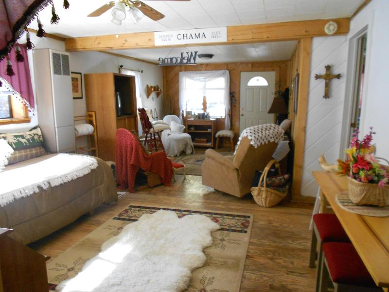 Cozy Living Area - SNUG HI-COUNTRY HANGOUT-NORTHERN NEW MEXICO MTNS - Chama - rentals