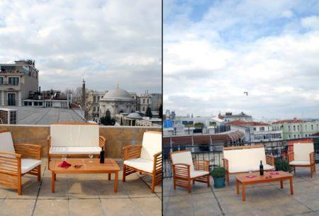 2 BR SEA-VIEW TERRACE FLAT IN SULTANAHMET SQUARE - Image 1 - Istanbul - rentals