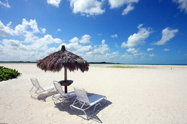 Private Beach Area for Castle Beach - Castle Beach 402 - Fort Myers Beach - rentals
