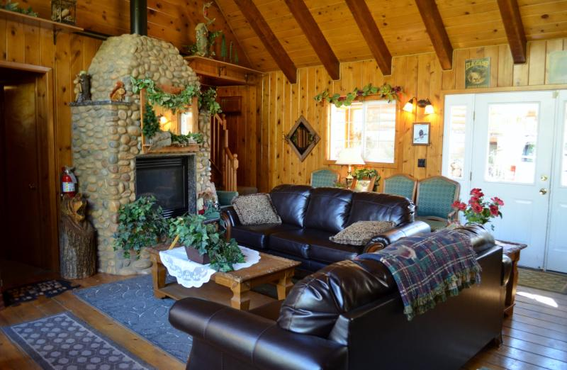 Spacious Living Room - Alpine Forest Lodge ~ Great for Family Reunions, and other group gatherings.  10 Bedroom/ 11 Baths - Duck Creek Village - rentals