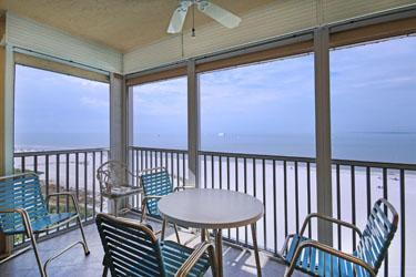 VIEW FROM LANAI - Vacation Villa  632 - Fort Myers Beach - rentals