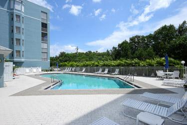 Pool Area - Admirals Bay 242 - Fort Myers Beach - rentals