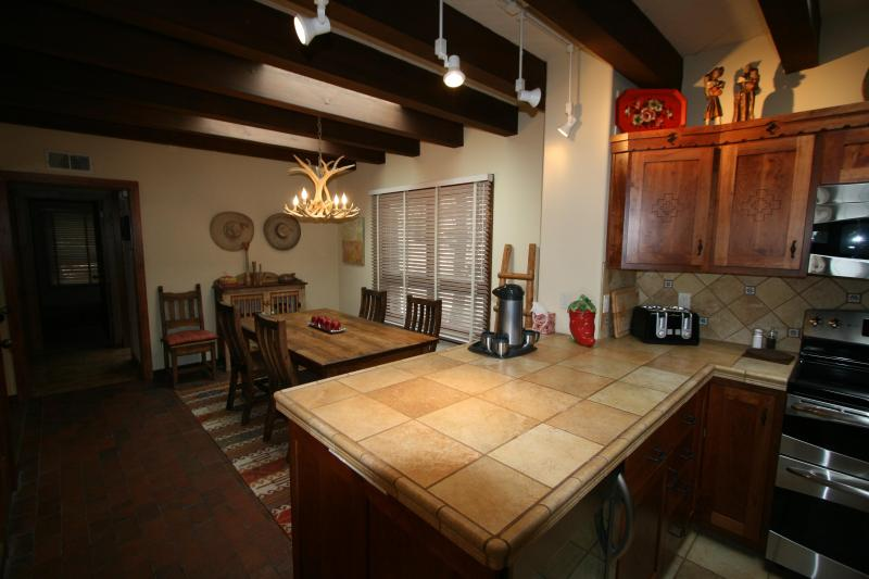 Kitchen-Dining Room  - Upscale Retreat Minutes From The Famous Santa Fe Plaza - Santa Fe - rentals