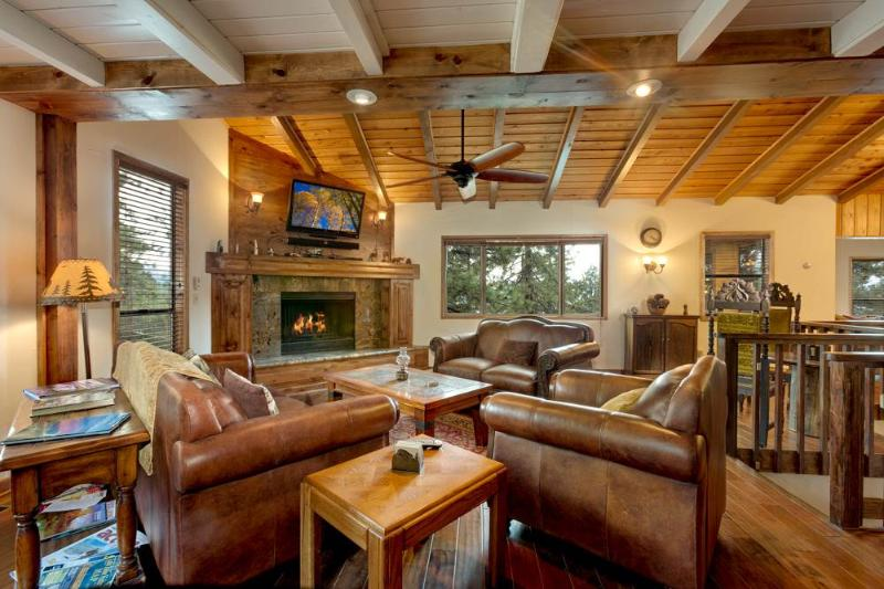 Deluxe Home Near Zephyr Cove with Beautiful Lake Views, Game Room and Gourmet Kitchen (ZH06) - Image 1 - Zephyr Cove - rentals