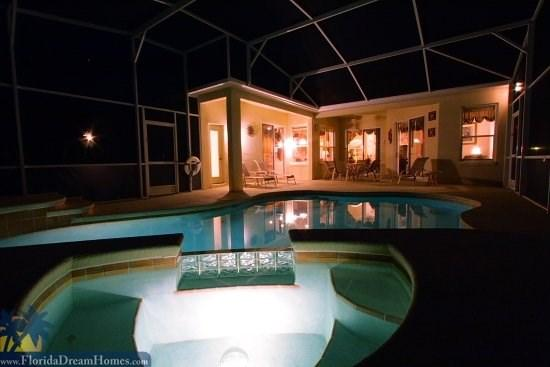 Large Pool, Deck, Spa,  Outdoor BBQ Charcoal Grill - 16430 - Ideal House with 4 BR, 3 BA in Davenport - Kissimmee - rentals