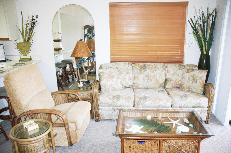 Nicely Decorated Living Room - Pet Friendly 2 Bedroom 1 1/2 Bathroom - Saint Augustine - rentals