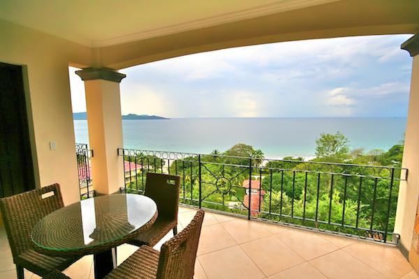 Beautiful Pacific Ocean views from the balcony. - Oceanica Condo 816 - Playa Flamingo - rentals
