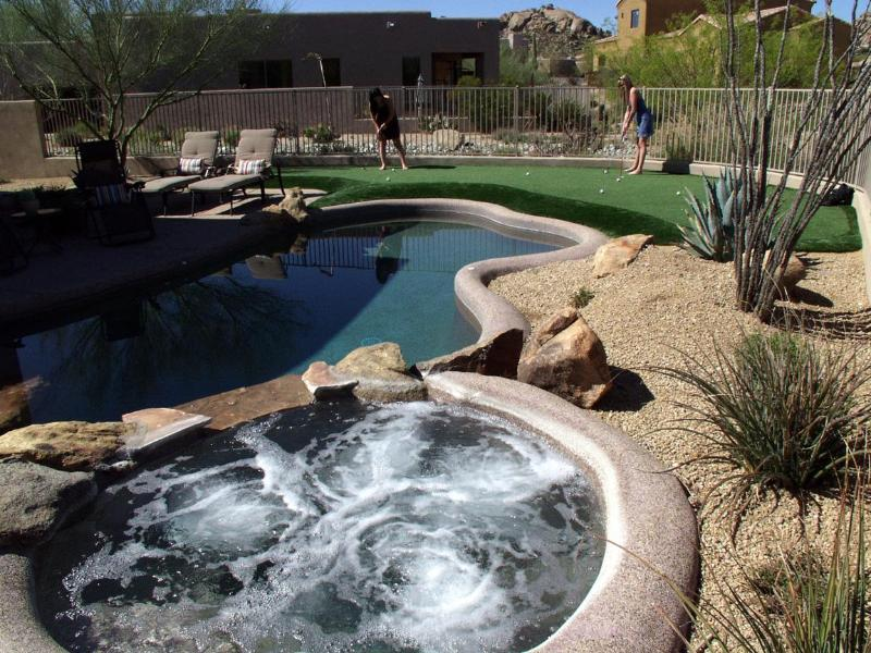 Spa, Pool and 3 Hole PGA style putting green - Troon North Golf Rental-Putting Green/Private Pool - Scottsdale - rentals