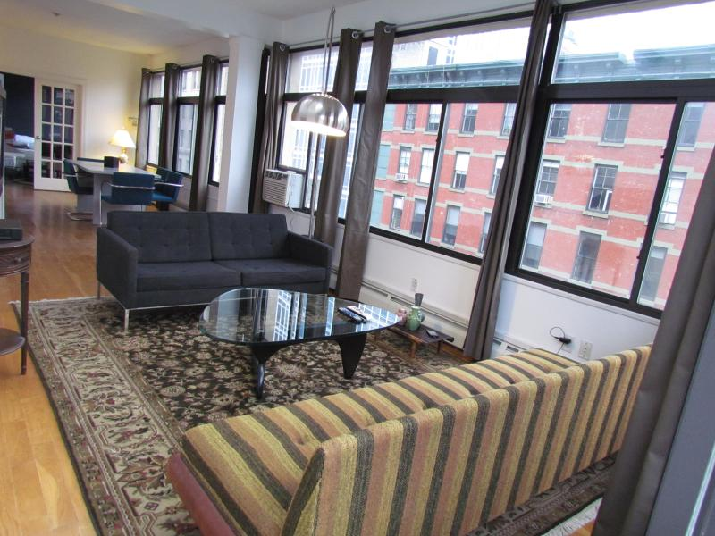 BRIGHT Soho/Nolita Three-Bedroom Loft for up to 8 - Image 1 - New York City - rentals