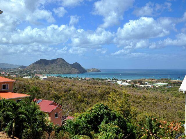 View - 3 Bedroom villa with pool and Ocean views - Cap Estate - rentals