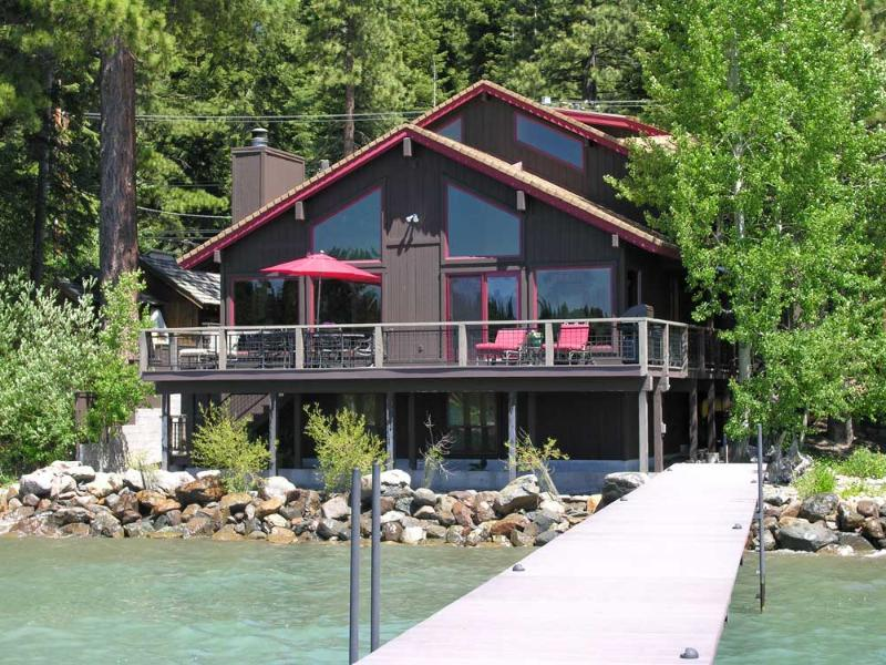 North Lake Tahoe Lakefront home with pier and buoy - Waters Edge Tahoe Lakefront - Pier and Buoy - Carnelian Bay - rentals