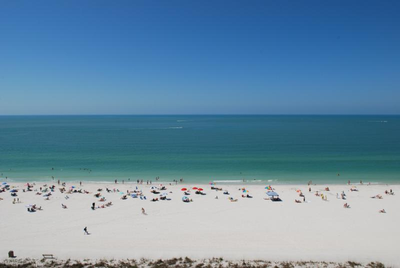 view - 1 BEDROOM 1 BATH - BEACHFRONT CONDO - Marco Island - rentals