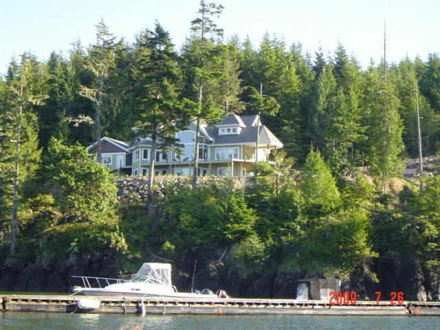 View from the ocean - Scotia Bay B&B and Suites - Port Hardy - rentals