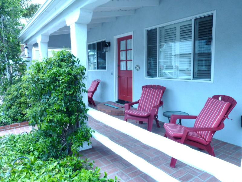 Front Porch - Home Away from Home-Balboa Island - Balboa Island - rentals