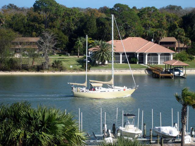 Intracoastal View from our Balcony - CANOPY WALK PENTHOUSE 844~Intracoastal~Bikes~Wifi - Palm Coast - rentals