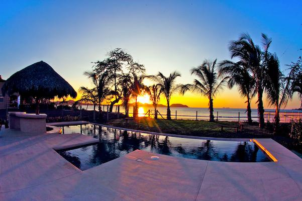 Spectacular View of Sunset from Pool - Villla Malibu, Luna Suite - Guanacaste - rentals